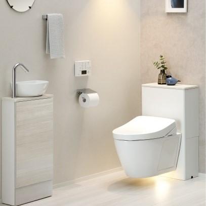 住宅用壁掛トイレ FD 空間プラン例 (2)