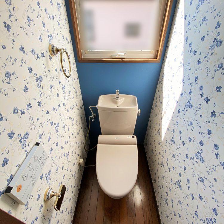 トイレ エレガント 花柄クロス RE-51442